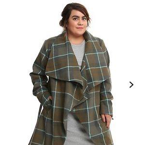 Torrid Hot Topic Outlander Wrap Coat Plus Size 4